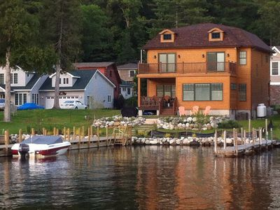 Photo for Dock your boat, park your car, unpack and enjoy.  You're at home here. ENJOY!!!!