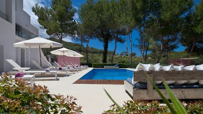 Photo for Large luxury villa to rent Ibiza  near San Jose with pool, AC, Wi-fi, views