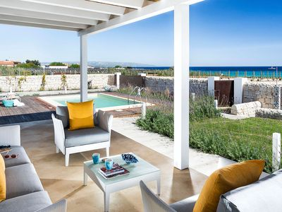 Photo for Private villa with sea view on a sandy beach