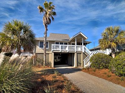 2 Sand Dunes Lane Isle of Palms SC Ocean Views - Sundeck, screened porch, living room and 2 of the bedrooms have views of the ocean.