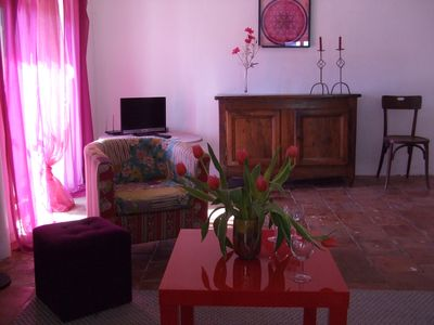 Photo for In the heart of the village, comfort and natural - Vallon Pont d Arc - 5 people