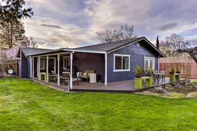 Get away to southern Oregon & relax at this superb Medford home!