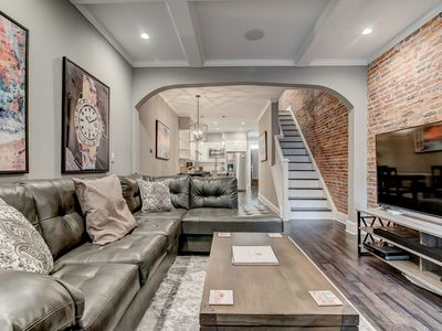 Photo for Luxurious Inner Harbor Home with Parking and Rooftop Deck
