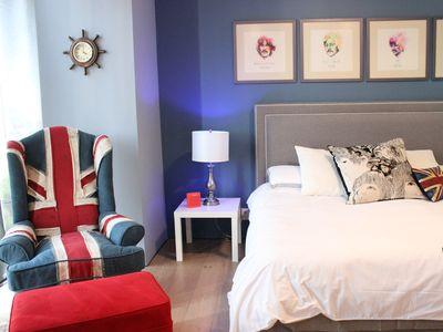 Photo for Luxury Apt on Reforma Avenue with British Decor!