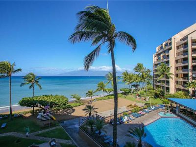 Photo for OCEANFRONT Corner unit with Newly Remodeled Kitchen. Sands of Kahana, unit 237