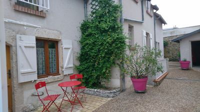 Photo for Gite the House of Vivier. Village house on the banks of the Loire