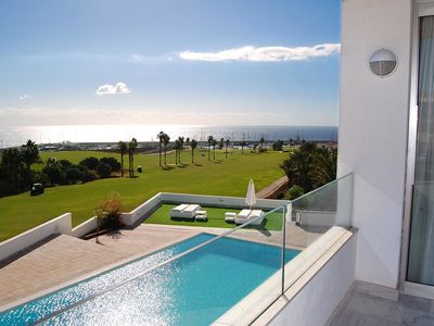 Photo for Amarilla Golf Villas - Unit 3 - luxury 2 bed with huge balcony and stunning views