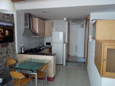 Photo for THE LIGHT OF PALANOS. Apartment near the Town Hall