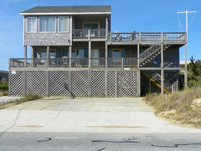 Photo for SEMI-OCEANFRONT- 5 BRs, Two Kitchens, Dog Friendly, Ping Pong, Crows Nest