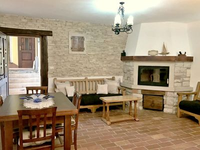 Photo for Spacious apartment in Savudrija, furnished in rustic style, WiFi, parking