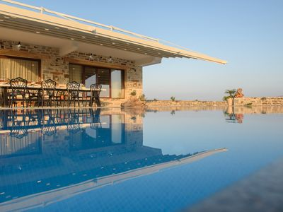 Photo for LUXURY HIDEAWAY IN SOUTH CRETE WITH POOL & PRIVACY