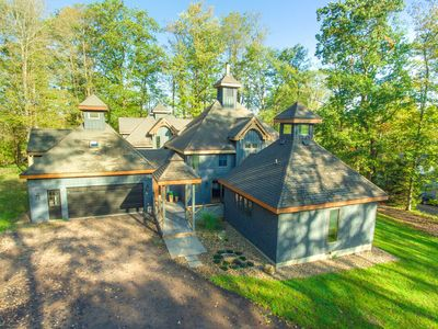 Photo for Beautiful Lake Access Home w/Dock Slip, Hot Tub, Fire Pit, & Game Tables!