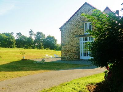 Photo for Renting a cottage in farmhouse near St Cast Guildo and St Jacut Sea