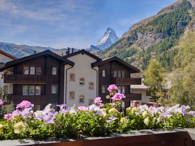 Photo for Haus Arbgrat - Stunning loft apartment with Matterhorn views.