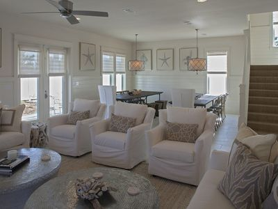 Photo for NEW LISTING: 2 Blocks to Gulf, Private Pool, Designer Interiors, Spacious