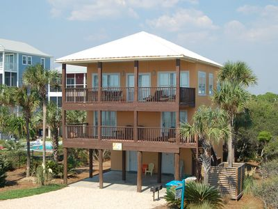 Photo for Beautiful 3 Bedroom Beachfront Home~Private Boardwalk to Beach~Family Friendly~Amazing Views