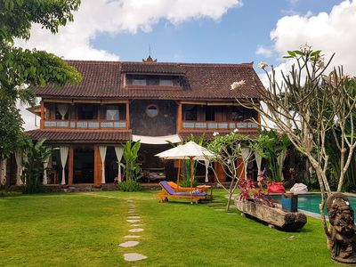 Photo for Villa Luduzen, Canggu, 3 bedrooms, private pool in the tropical garden