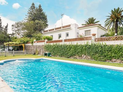 Photo for Large Villa On the Beach with Pool, Terrace, Garden & Wi-Fi; Parking Available, Pets Allowed