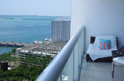 Photo for OCEAN VIEWS FROM LARGE CORNER CONDO, W RESIDENCES. FREE: POOL, SPA, GYM, WI-FI