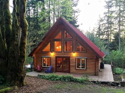 Photo for Glacier Springs Cabin #21 - This family home says Cabin in the Country!