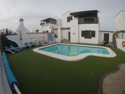 Photo for 5 min Walk to Beach, Luxury Detached Villa in Premier Location, Sky TV & Wi-Fi