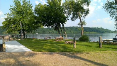 Rustic Lodge With A Beach Charm On The St. Croix River