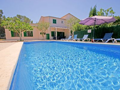 Photo for Cala Santanyi - House for 12 people and 3 children a few meters from the beach