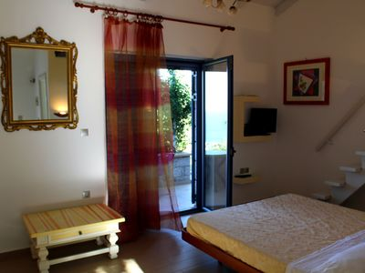 Photo for Bed&Breakfast Sto Spiti: private room with amazing view
