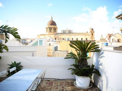 Photo for Central HOUSE with 3 independent FLATS & panoramic TERRACES overlooking the DOME