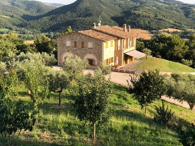 Photo for Beautiful Large Villa in Umbria with Stunning Panoramic Views Near Perugia