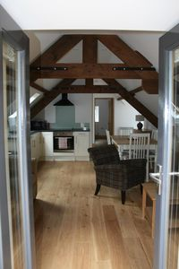 Photo for Luxury Exmoor Flat - Gardens, Walks, Hot Tub And More
