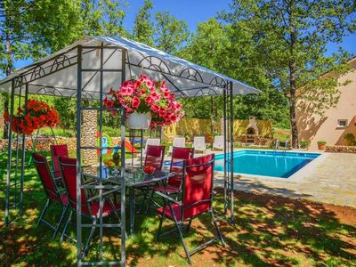 Photo for ctim253 - Simply decorated holiday house with a private pool in Imotski - Makarka, ideal for 8 persons, pets allowed