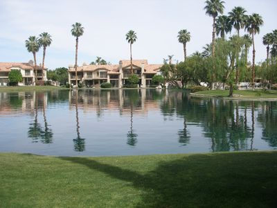 Photo for New Renovation! 2Bed/2Bath Condo On Palmer Private with peaceful lake view.