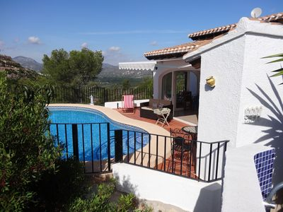 Photo for Beautiful villa with priv. pool, phantastic views, calm location, BBQ, wifi