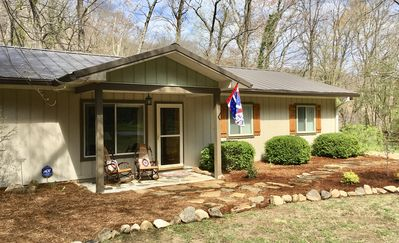 Photo for Rollin' on the River-Cozy riverfront home in Chimney Rock! Just Remodeled!