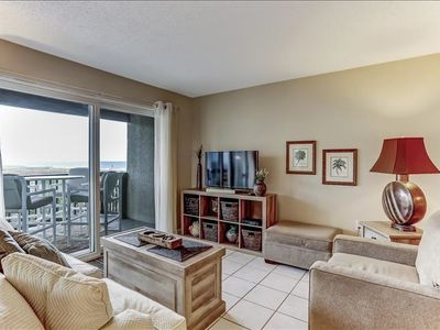 Breathtaking ocean views from this 2 BR/2BA Condo, sleeps 4. Private balcony.