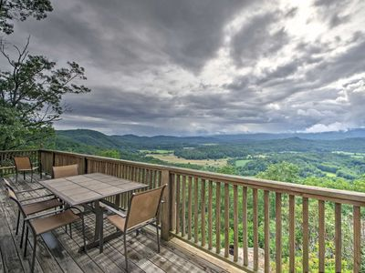 Photo for 'Point of View' Brevard Home w/Great Views & Deck!