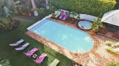 Photo for House / Villa - Entre deuxfurnished with tourism hiring of holidays villa swimming pool jacuzzi