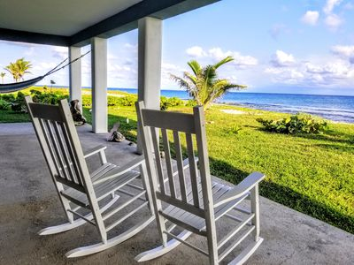 Photo for Coral Ridge House Studio Apt-Oceanfront Walkout Diving/Snorkel