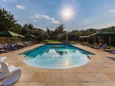 Photo for Villa Sandra, elegant villa with park and pool in Mondavio, only 20 minutes from the Adriatic coast.