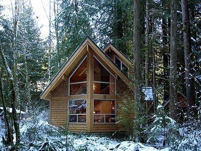 The front of Cabin #4