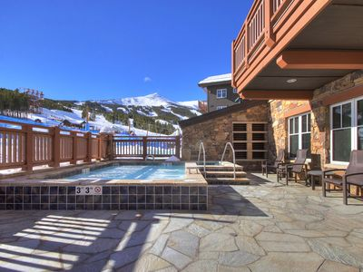 Photo for Winter Penthouse w/Alpine Views + Resort Amenities Sleeps 10