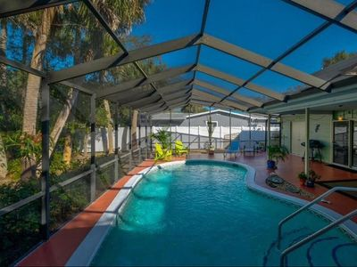 Photo for 3 BR/3 BA pet friendly home w/pool.  Close to Siesta Key Village and Beach