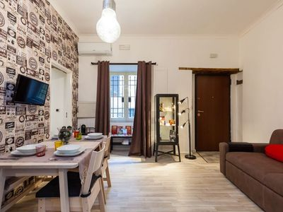 Photo for Central Station apartment in San Lorenzo with WiFi & air conditioning.