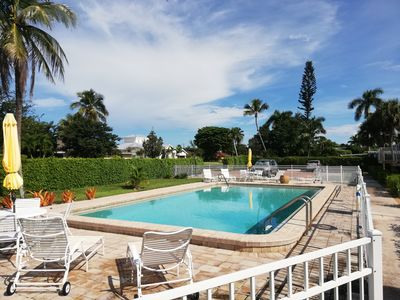 Photo for 2 Bedroom condo in lovely quiet Naples location close to beach and shops