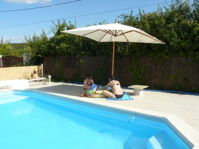 Photo for Lodging classified **** with heated pool mid-season, the sauna, the Ardèche Gorges