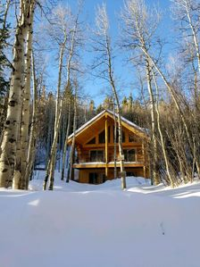 Photo for Book and Save! Newest Cabin Closest to Monarch Ski Mountain with Large Hot Tub
