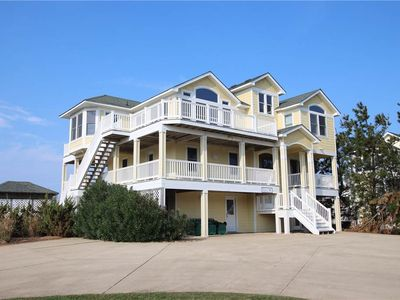 Photo for #445: Partial OCEANVIEW in Corolla w/HtdPool, HotTub & RecRm w/PoolTable