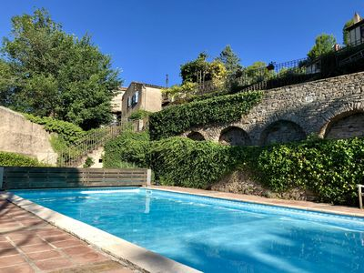 Photo for Rustic simplicity, comfort, sublime views and spectacular pool. Prices reduced!