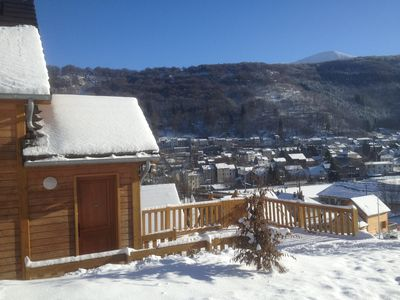 Photo for CHALET 4 * in 2010 MONT DORE 4 bedrooms 2 bathrooms WIFI COMFORT PANORAMIC